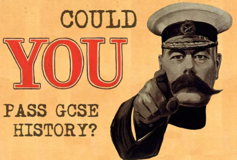 Could You Pass GCSE History?