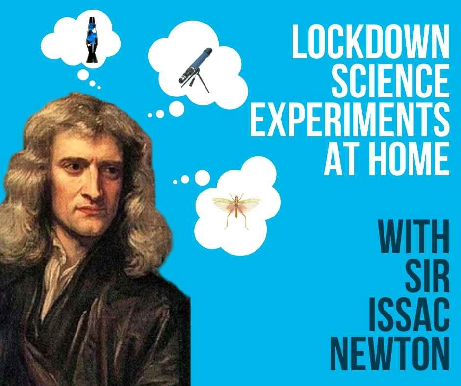 Lock down science experiments to do at home