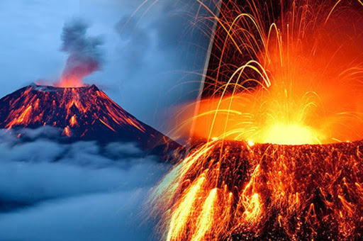 How to build a volcano