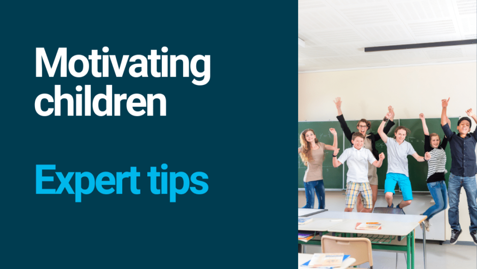 How to motivate children