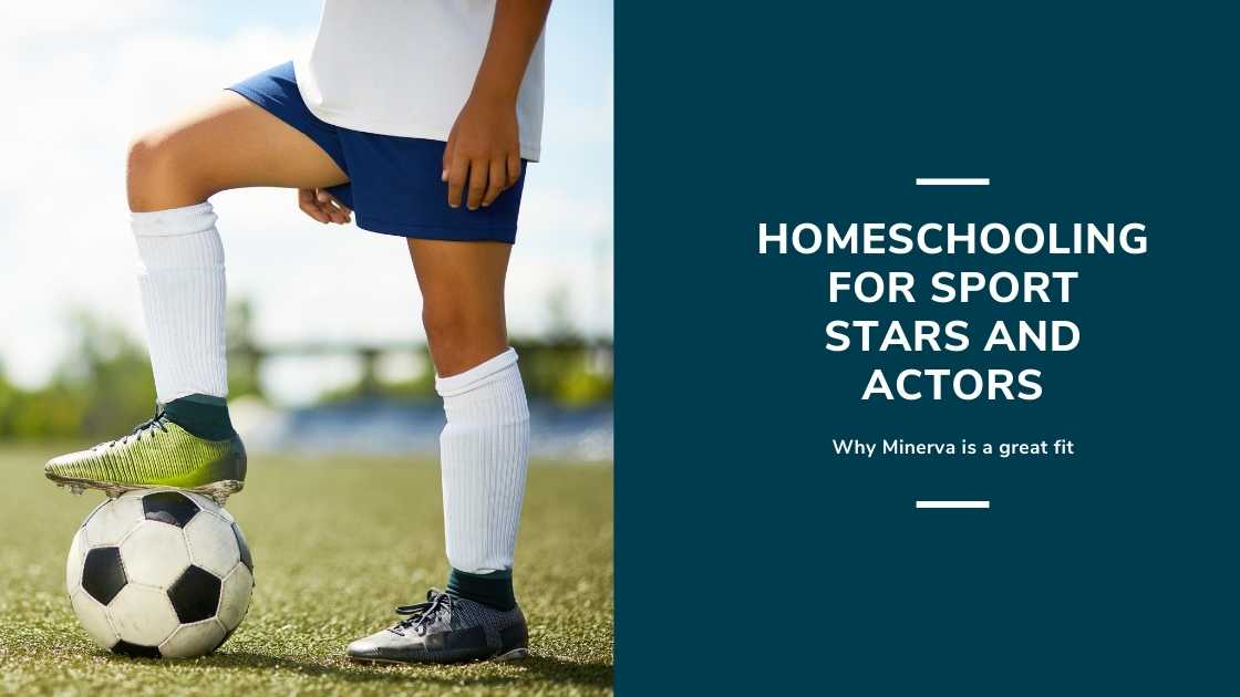"""Featured image for """"Why the Sports Stars of Tomorrow Homeschool With Minerva"""""""